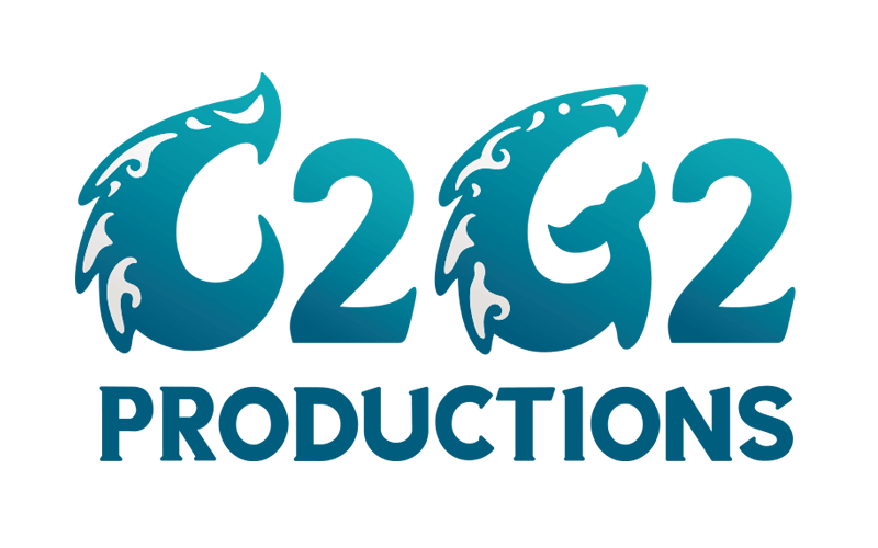 C2G2 Productions logo design