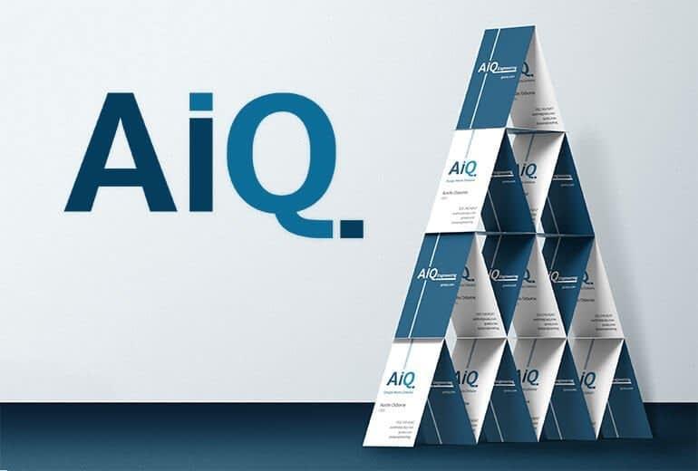 AiQ Brand Identity Project by San Francisco graphic design firm Susy Bias Design