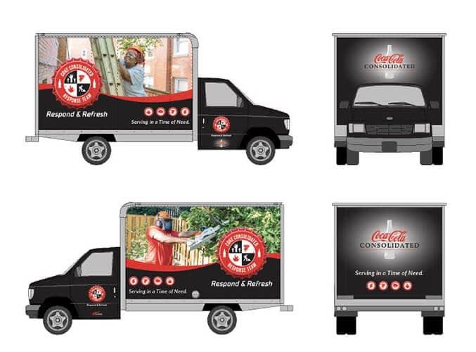 Coke Van artwork