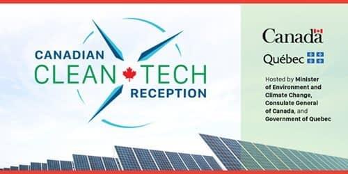 Canadian Clean Tech Reception Evite header