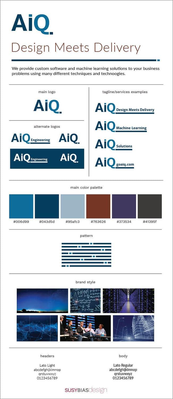 AiQ brand board
