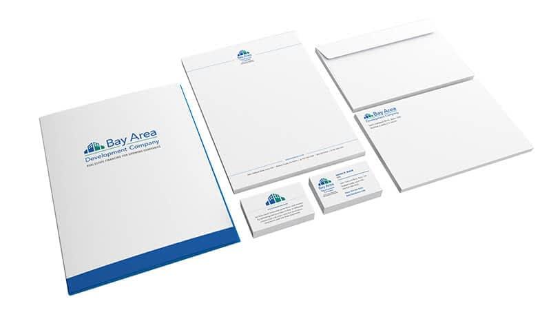 Bay Area Development Company Stationery Suite