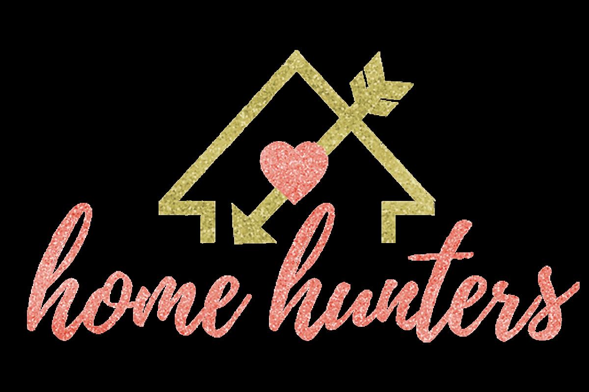 Home Hunters logo design