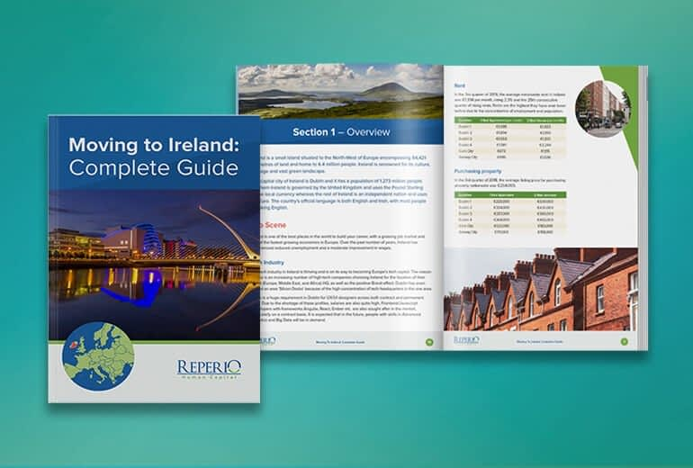 Page Layout for Moving to Ireland Guide