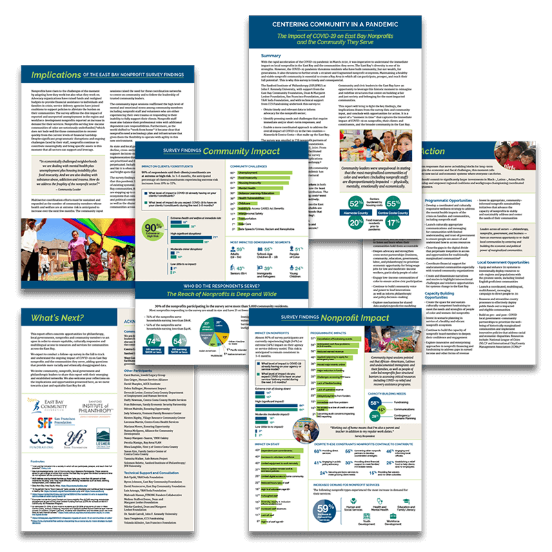 Covid-19 Infographic Summary Report