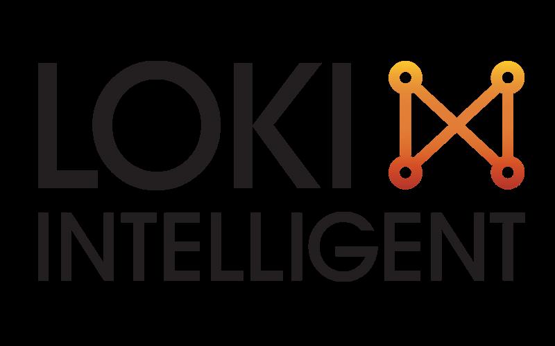 Loki Intelligent logo design
