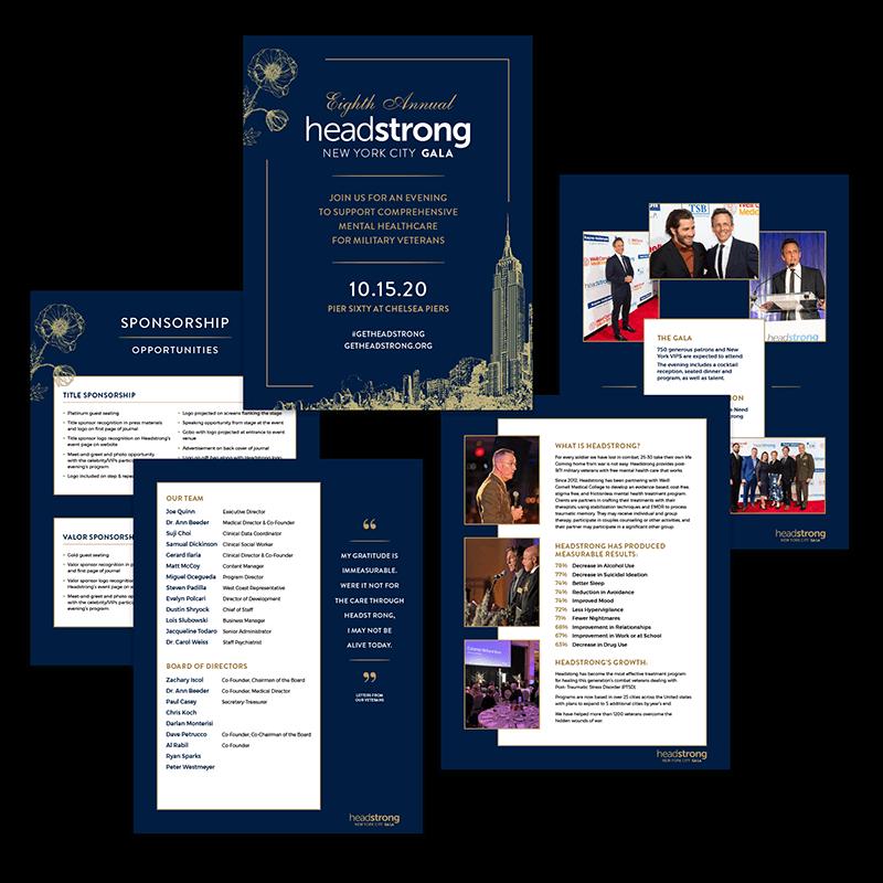 Headstrong Gala Sponsorship Booklet